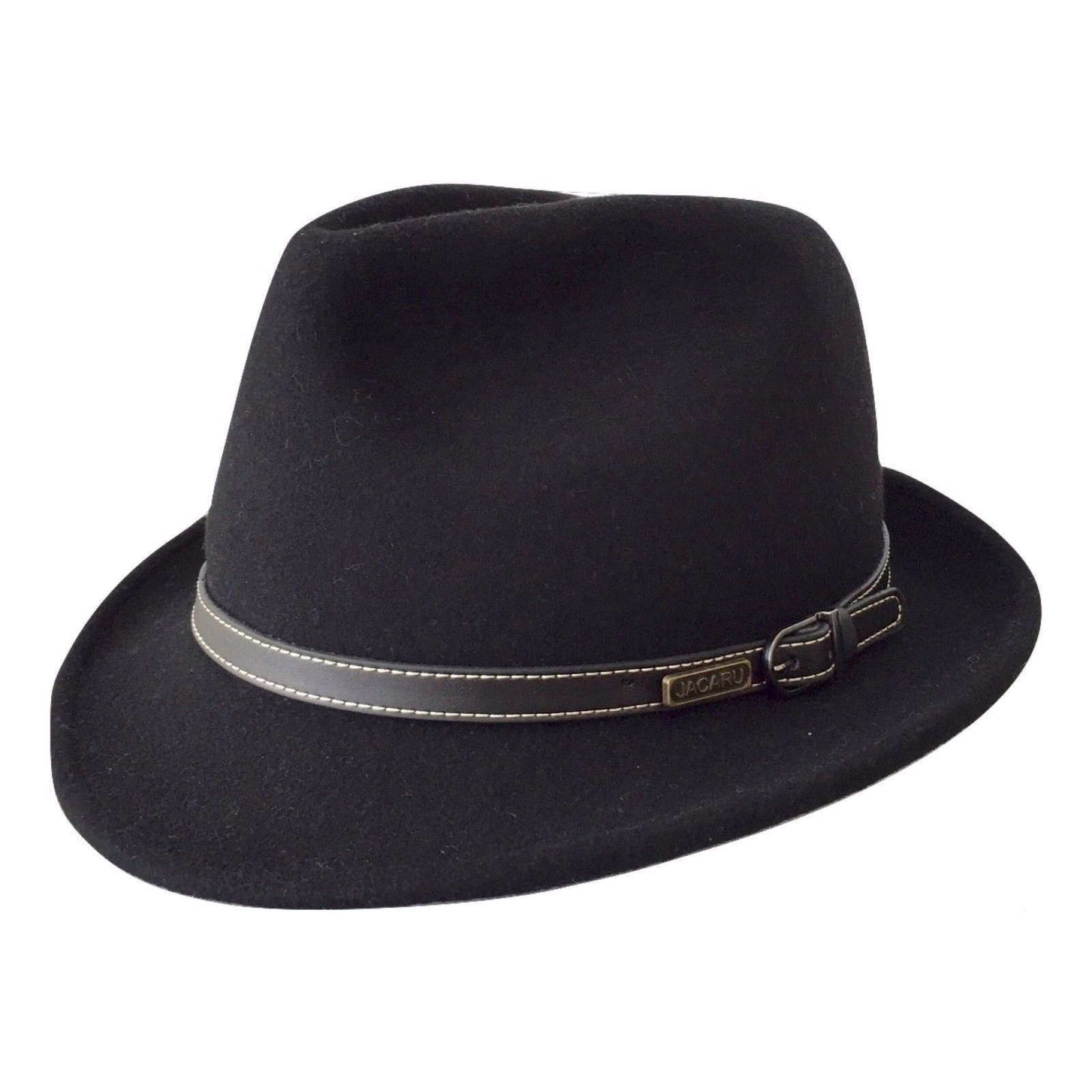 JACARU-Australian-Wool-Hat-Trilby-Fedora-100-WOOL-Crushable-Travel-Genuine-1848 thumbnail 5