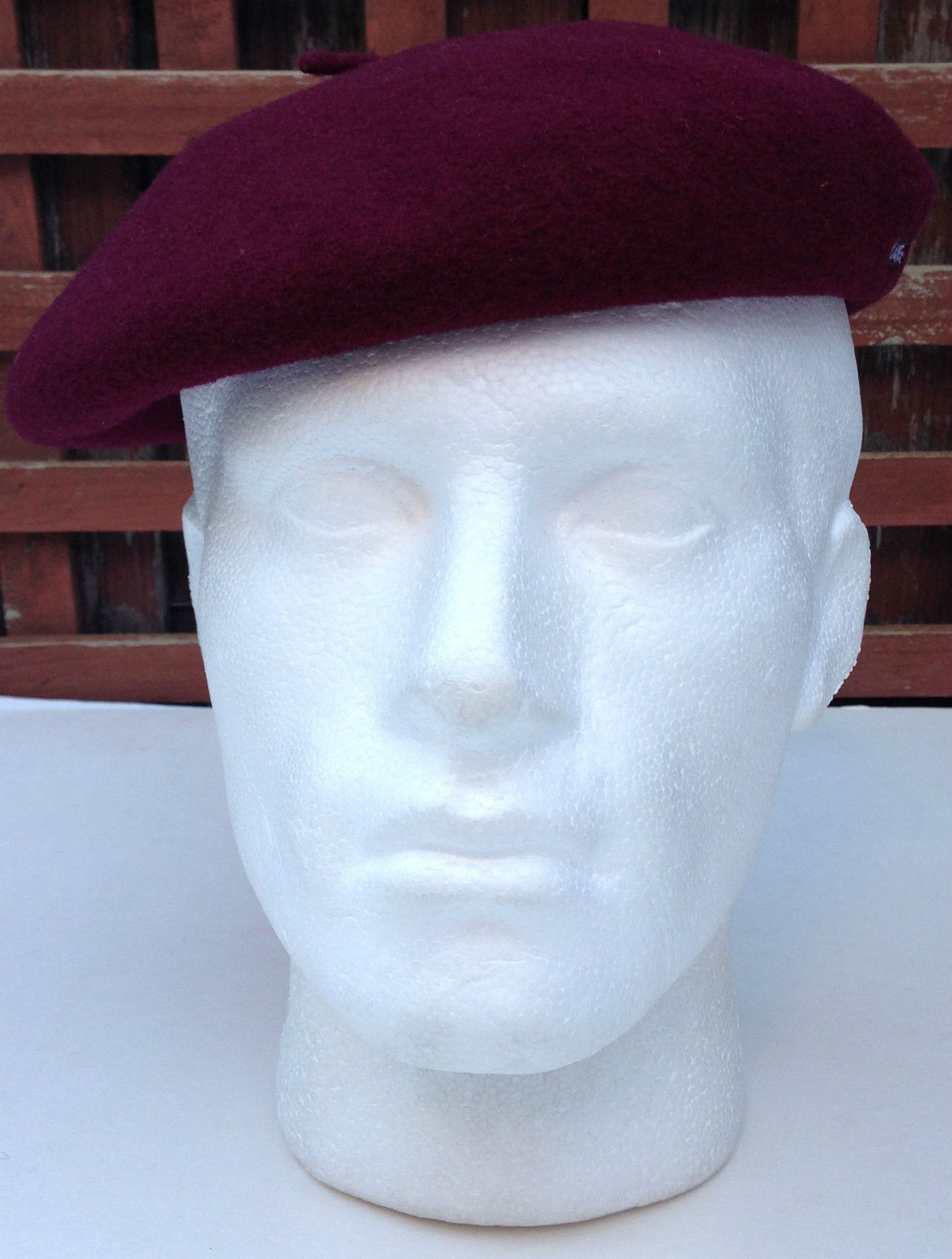100/% Wool Kangol Anglobasque FRENCH Beret Camel 0252HT British Party Hat