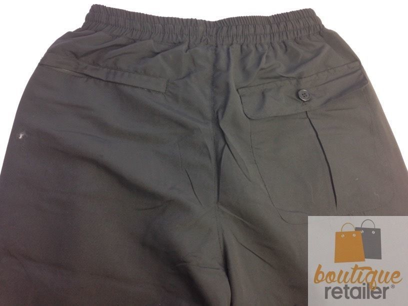 Men-039-s-3-4-CARGO-SHORTS-Elastic-Waist-Longer-Length-Microfibre-Summer-Pants-New thumbnail 6