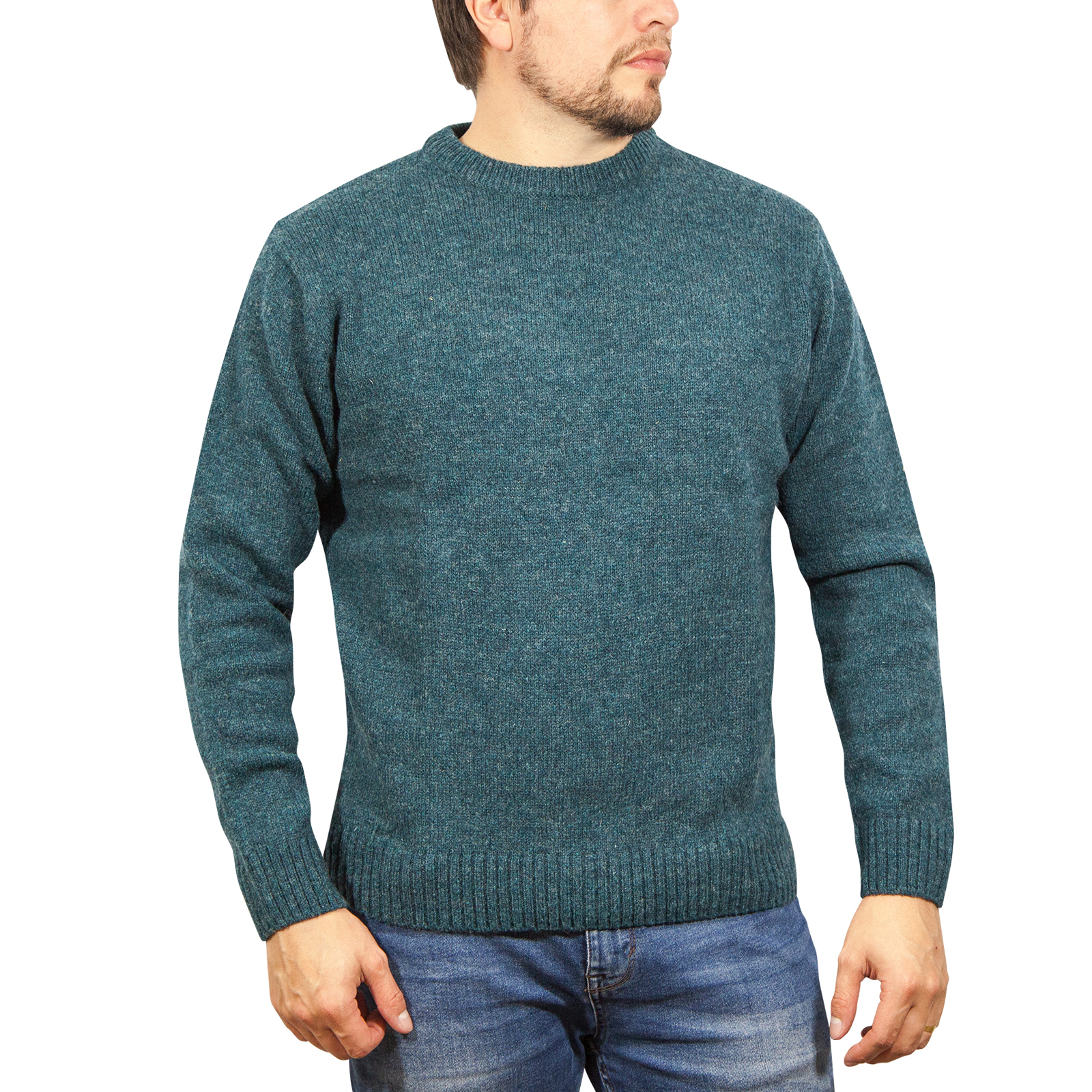 Men/'s Crew Round Neck  Pullover Jumpers Sweater