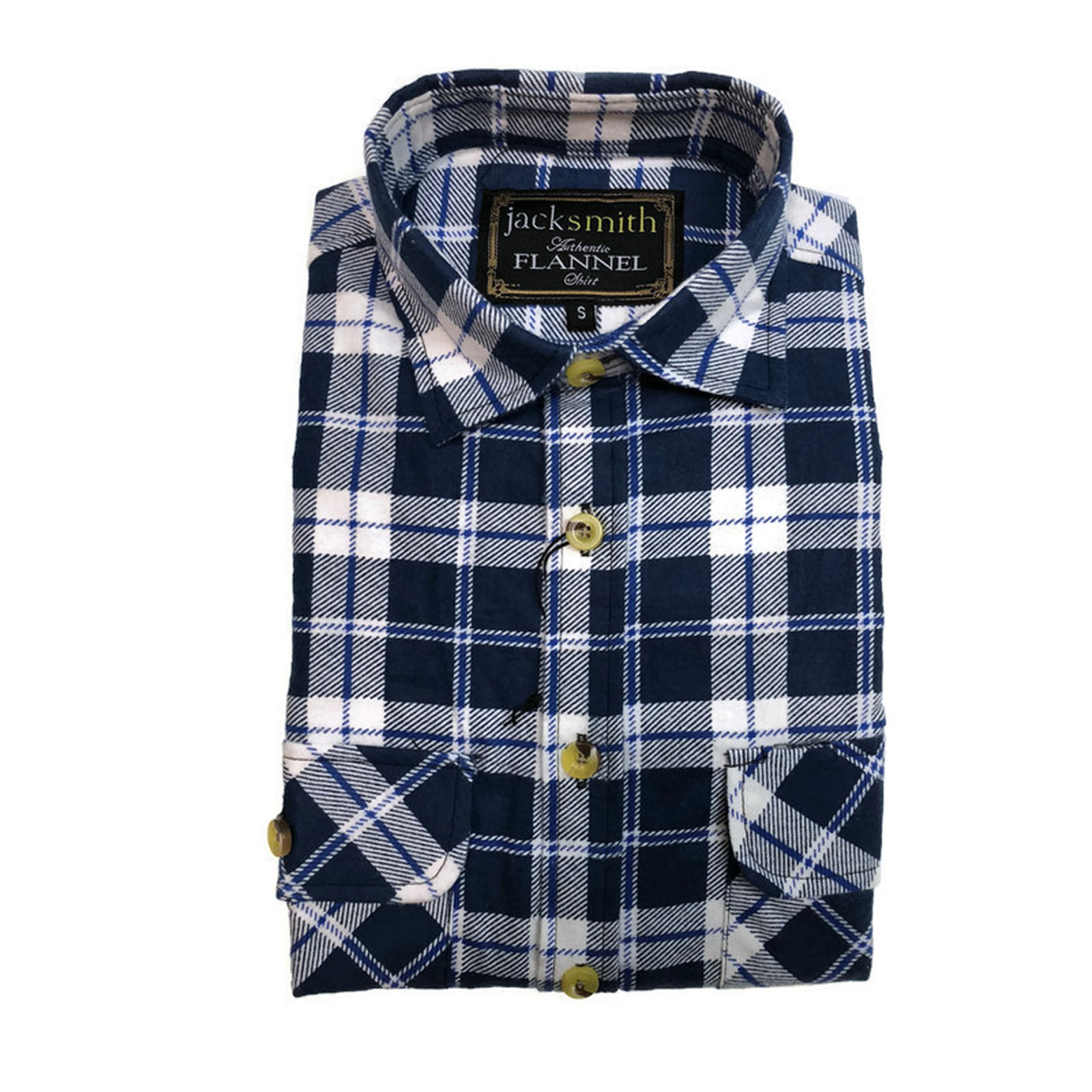 Men-039-s-Flannelette-Shirt-100-Cotton-Check-Authentic-Flannel-Long-Sleeve-Vintage thumbnail 14
