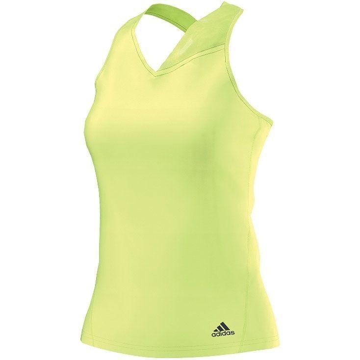 ADIDAS Response Tank Top Tennis Climacool V Neck AA7153 Womens Ladies New