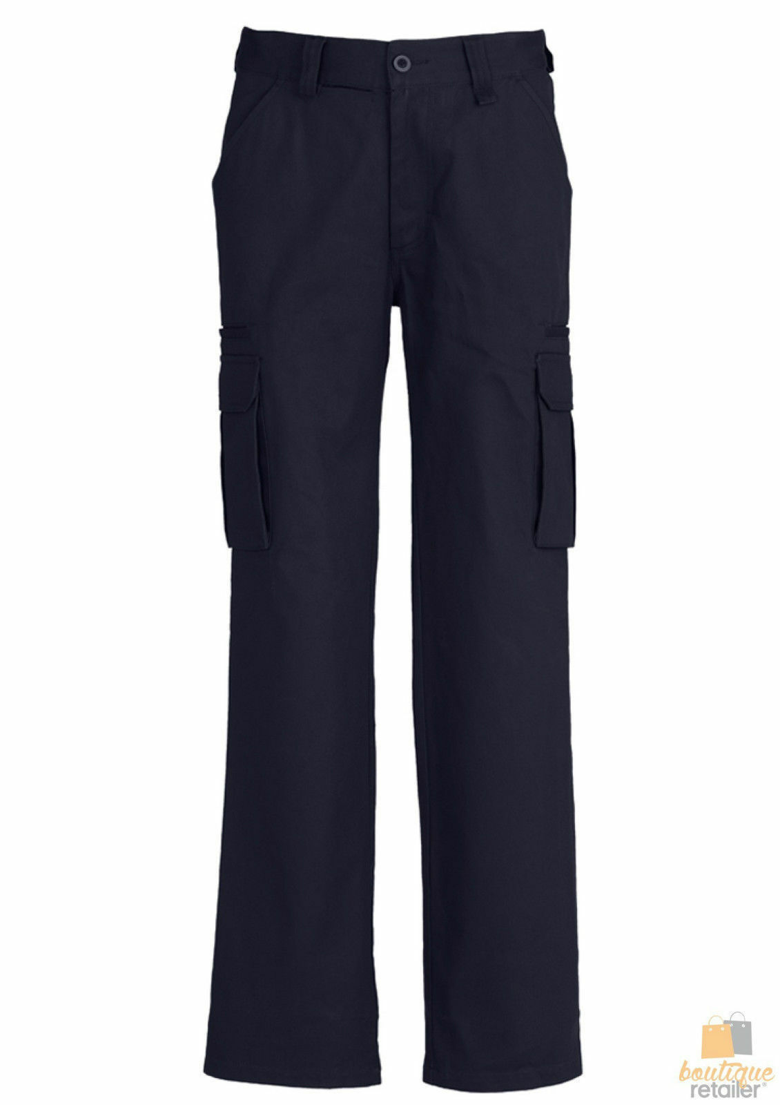 Mens-CARGO-PANTS-Work-Wear-Trousers-100-COTTON-Tradie-Pockets-Military-310gsm thumbnail 16