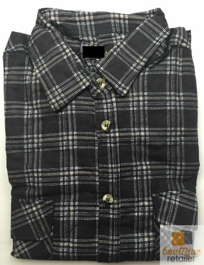 FLANNELETTE-SHIRT-MENS-Check-100-COTTON-Flannel-Vintage-Long-Sleeve thumbnail 16