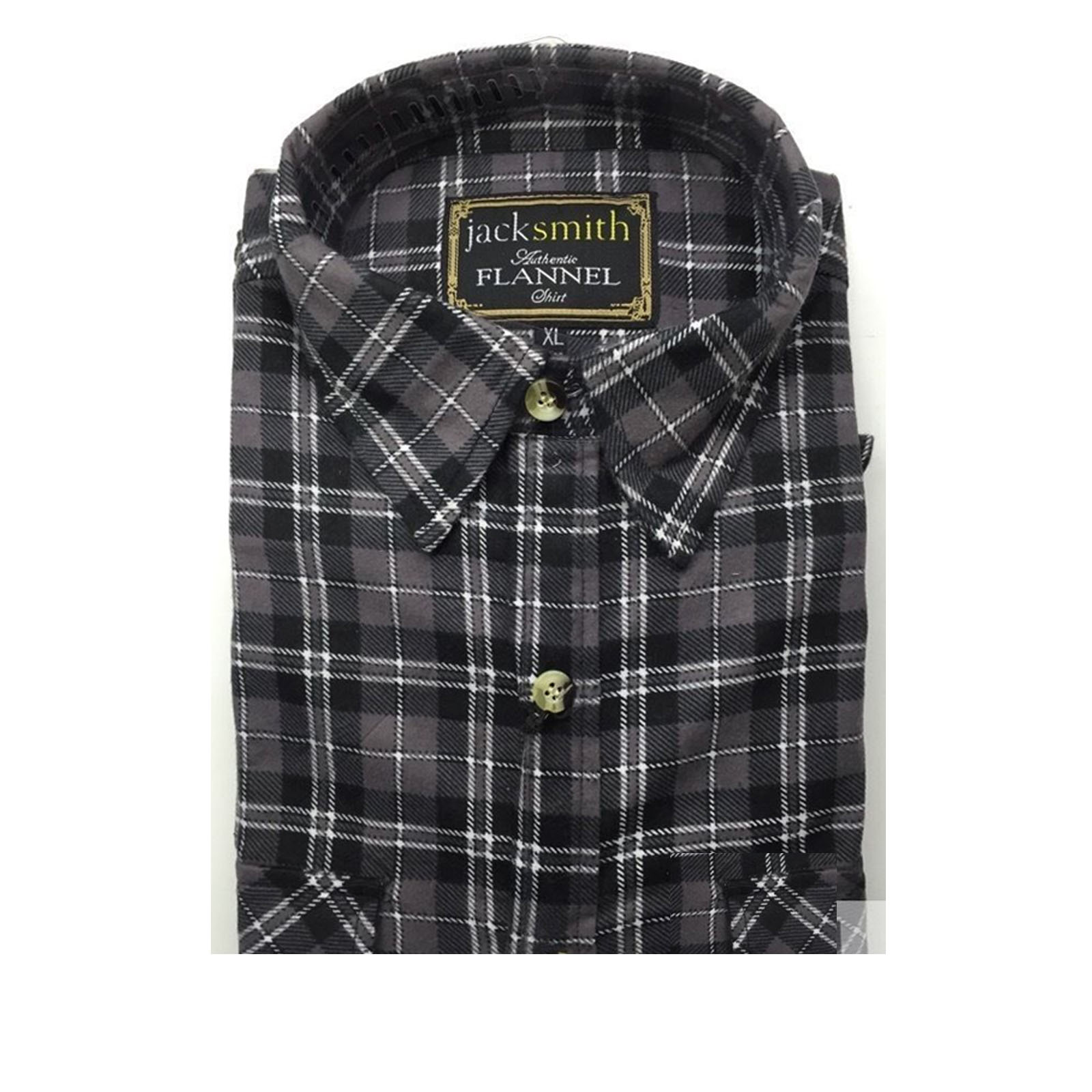 Men-039-s-FLANNELETTE-SHIRT-Check-100-COTTON-Flannel-Vintage-Long-Sleeve thumbnail 139