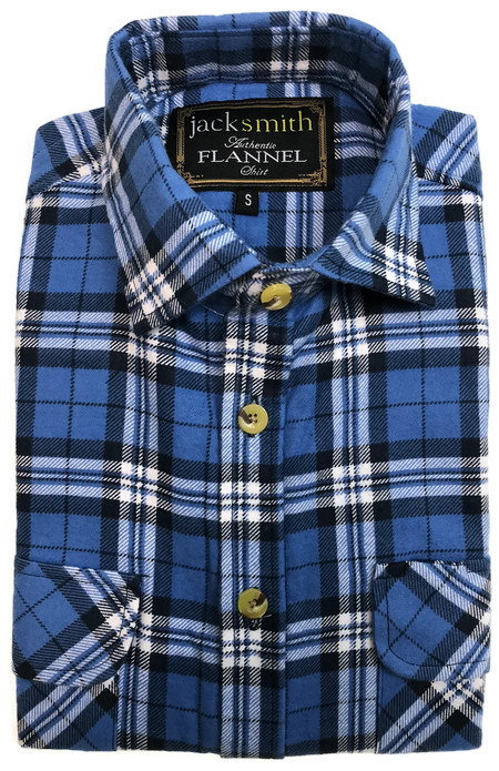 Men-039-s-Half-Placket-Flannelette-Long-Sleeve-Pullover-Shirt-100-Cotton-Check-Auth thumbnail 62