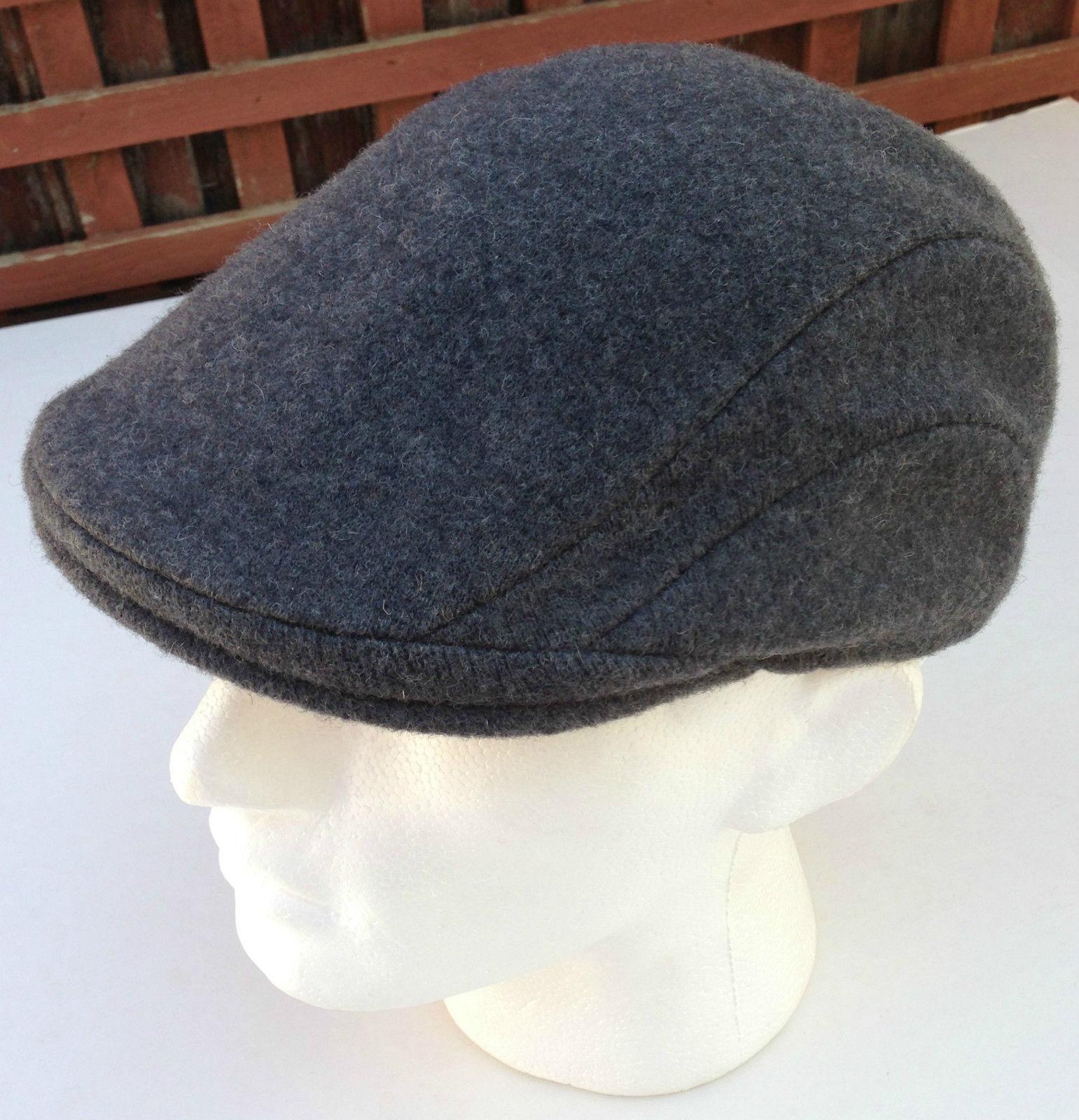 KANGOL-507-Wool-Ivy-Hat-Cap-Mens-Warm-Classic-Winter-Flat-Driving-6845BC thumbnail 26