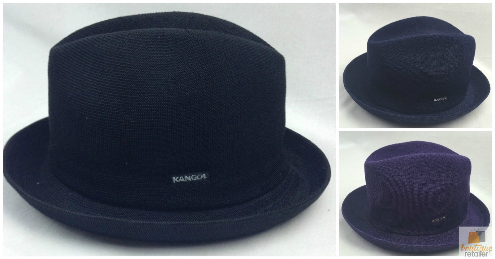 Black  KANGOL  Tropic  Player  Hat  Style 6371BC