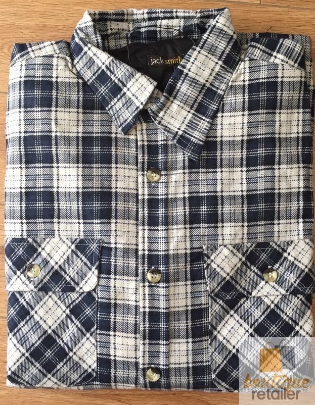 Men-039-s-QUILTED-FLANNELETTE-SHIRT-100-COTTON-Flannel-Jacket-Padded-Long-Sleeve thumbnail 9