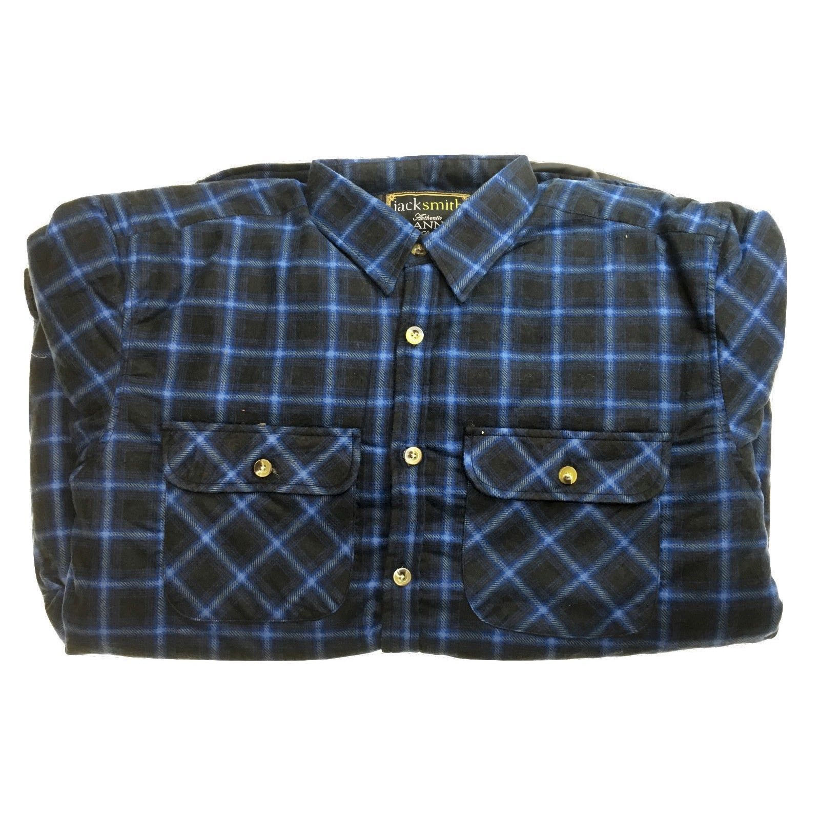 Men-039-s-QUILTED-FLANNELETTE-SHIRT-100-COTTON-Flannel-Jacket-Padded-Long-Sleeve thumbnail 126