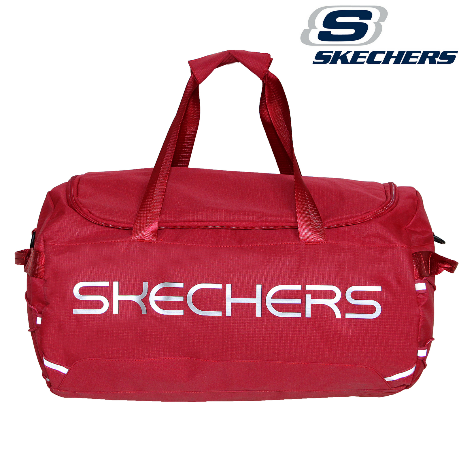 7e99d91c63 Skechers Santa Monica Travel Bag Gym Duffle Sports Duffel - Red