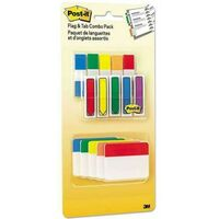 3M Post-it Flags and Tabs Combo Pack Assorted Primary Colors 230/Pack