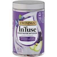 Twinings Infuse Cold Water Infusion Tea Bags - Blueberry, Apple Blackcurrant - 12 pack