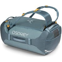 Osprey Transporter 65L Duffle Bag Backpack Travel - Keystone Grey