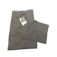 ExOfficio Men's Stretch Explorer Stretch Pants Trousers Hiking Trekking - Dark Cigar