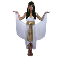 Deluxe Ladies Egyptian Queen Costume Ancient Roman Egypt Goddess Party