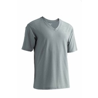 ExOfficio Men's Give-N-Go V Neck T-Shirt Top - Charcoal