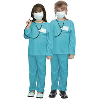 Kids EMERGENCY HOSPITAL DOCTOR Costume Children's Nurse Halloween Medical Party