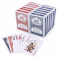 12 Decks CLASSIC PLAYING CARDS Standard Faces Mix Of Red & Blue BULK