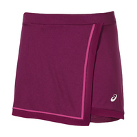 ASICS Club Styled Tennis Skort Skirt Gym Sports - Plum