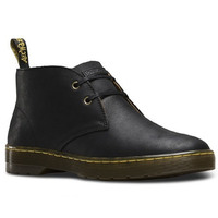Dr. Martens Cabrillo 2 Eye Desert Lace Up Boots Shoes Leather Chukka - Black