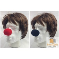10x Soft CLOWN NOSE Noses Costume Dress Up Halloween Spongy Sponge Circus BULK