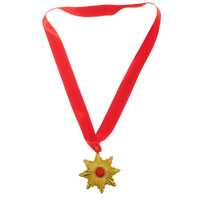 VAMPIRE MEDAL Medallion Necklace Halloween Star Costume Dracula Party