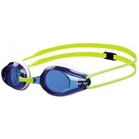 Arena Junior Okulary Tracks Swimming Goggles Swim Glasses - Blue/Yellow
