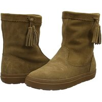 Crocs LodgePoint Women's Suede Leather Pull On Boots Ugg - Hazelnut