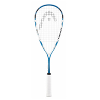 Head Microgel 125 Squash Racquet Racket Ball - Fully Strung with Cover