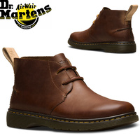 Dr. Martens Ember Chukka 2 Eyelet Leather Boots Ankle Shoes - Tan