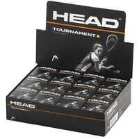 HEAD Tournament Squash Ball Advanced Training Competition Bulk Dozen - 12 Balls