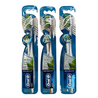 3x Oral-B Pro Health Green Tea Toothbrush Soft Oral Care