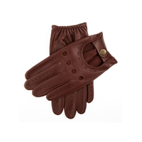 Dents Delta Men's Classic Leather Driving Gloves - English Tan