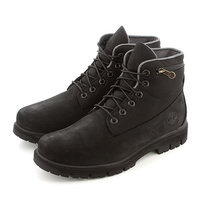 "Timberland Men's Radford 6"" Roll Up Boots Shoes - Black"