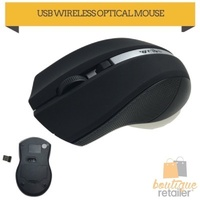 WIRELESS USB OPTICAL MOUSE Gaming PC LED 2.4Ghz Computer Laptop 3200 DPI Portable