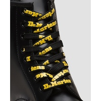 "Dr. Martens 55"" Shoe Laces Suits 8-10 Eye Boots Doc Martins - 140cm Black/Yellow"