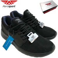 AEROSPORT Instinct Mens Runners Sneakers Mesh Athletic Gym Running New