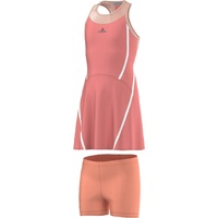 Adidas Stella McCartney Girls Tennis Sports Dress Barricade Climacool - Coral Pink