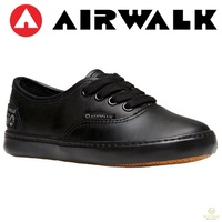 Airwalk Divider Shoes Lace Up Leather Men's Sneakers Skate Casual Trainers New