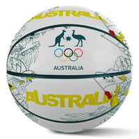 Summit Basketball AOC Australian Olympics Iconic Rubber Game Size 7