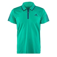 Adidas Men's Barricade Polo Shirt Blue Climacool Top Sports Tennis Athletic