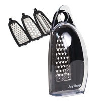Any Sharp 3-in-1 Smart Box Grater Vegetable Fruit Chopper Slicer