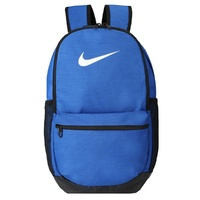 Nike 24L Brasilia Backpack Bag Everyday Sports Gym Rucksack - Blue