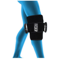 ICE 20 Double Knee Strap Compression Therapy Wrap Cold Pain Relief