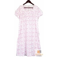 Ladies Sweet Heart NIGHTIE Women's Sleepwear Cotton Night Gown Pyjama PJ 1296