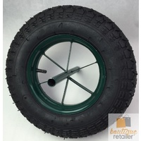 "15"" Heavy Duty Wheel Barrow Wheel Tyre Garden Tube Type Trolley Replacement New"