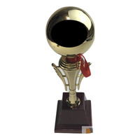 34cm TROPHY CUP Sport Award Football School Table Tennis Gold Winner Achievement