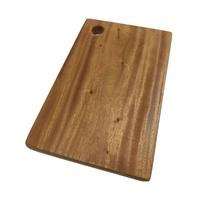 Hard Wood Hygienic Cutting Wooden Chopping Board Natural Kitchen 35 x 25 x 2cm