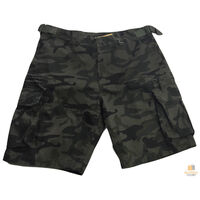 Deluxe PLUS SIZE CARGO SHORTS Heavy Duty Big Sizes 100% COTTON Drill Summer New